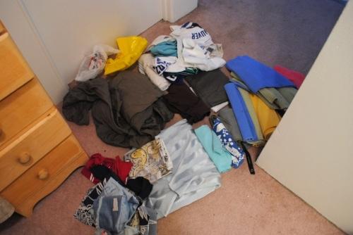 Unpacked linen