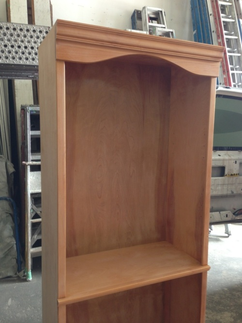 Sanded hutch