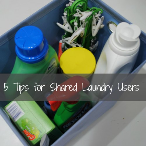 5 Tips for Shared Laundry