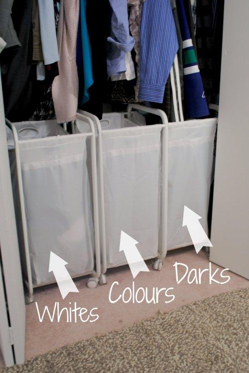 Sort laundry