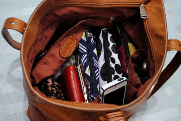 Purse on the inside