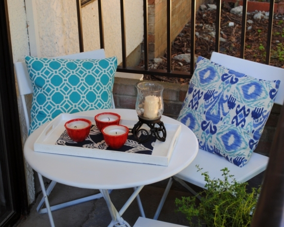 Apartment patio DIY