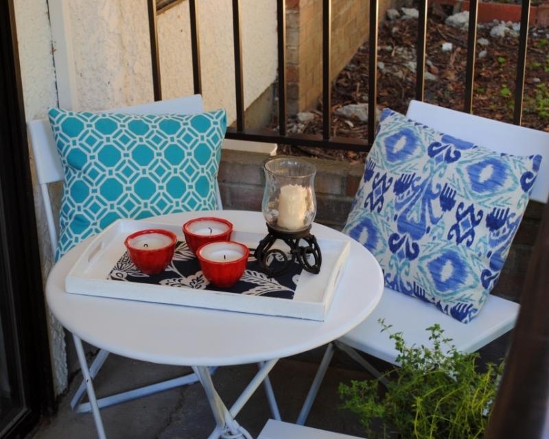 Apartment patio DIY